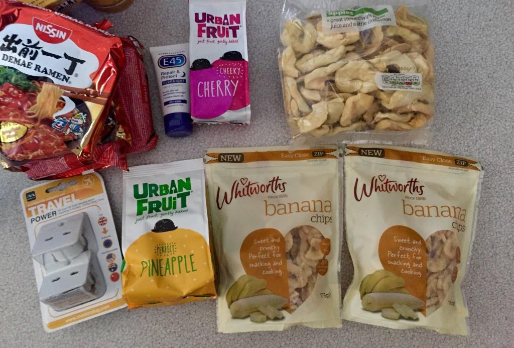 Energy snacks for Peru