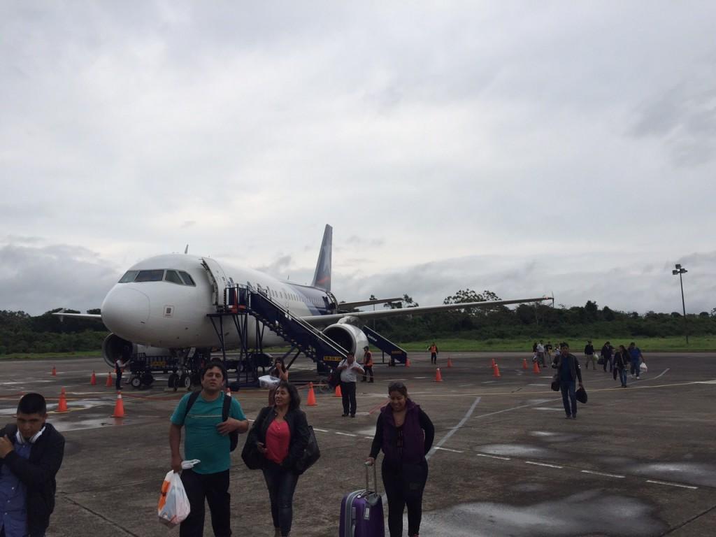 The plane!