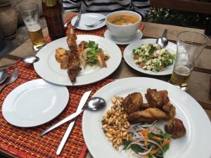 The infamous dinner in San Blas!