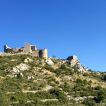 Day trip to Quéribus Cathar fortress, Languedoc, South of France