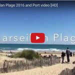 The beautiful beaches of Marseillan in the South of France